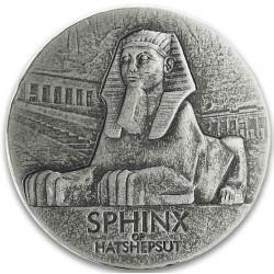 Chad 5 oz silver SPHINX OF HATSHEPSUT 2019