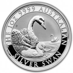 1 oz silver SWAN 2018