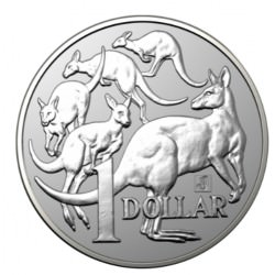 RAM 1 oz silver MOB OF ROOS MERLION 2019 $1
