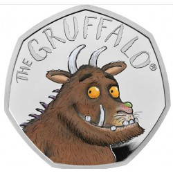 The Gruffalo® 2019 UK 50p Silver Proof Coin