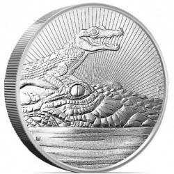 2 oz silver CROCODILE 2019 The Next Generation