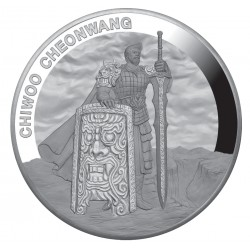 1 oz silver CHIWOO CHEONWANG 2019 KOREA PROOF