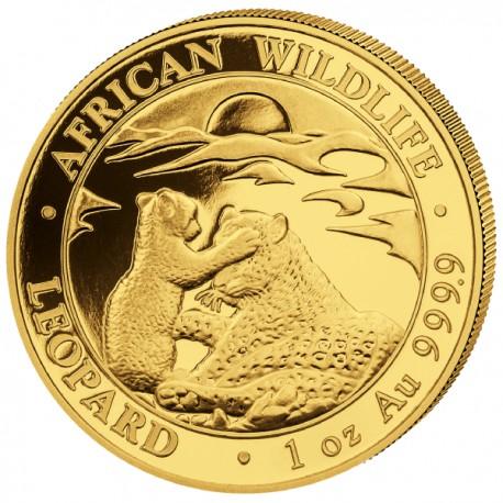 GOLD 1 oz LEOPARD 2019 SOMALIA 1000 Shillings