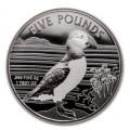 1 oz silver PUFFIN 2019