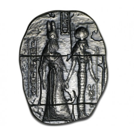3 troy oz silver Egyptian relic HORUS