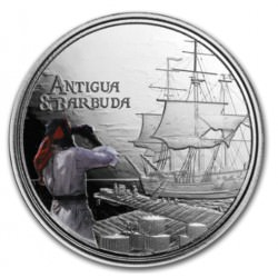 1 oz silver Rum Runner 2019 Eastern Caribbean PROOF N°1 / 8 EC2