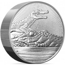 10 oz silver CROCODILE & BABY 2019 Next Generation BU $10