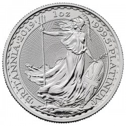 1 oz PLATINIUM PLATINUM BRITANNIA £100