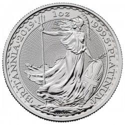 1 oz PLATINIUM PLATINUM BRITANNIA 2020 £100