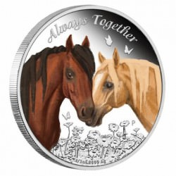 Always Together 2018 1/2oz Silver Proof Coin