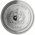 1 oz silver Samoan Seahorse 2018