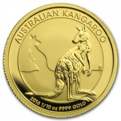 1/10 oz gold NUGGET 2016 KANGAROO